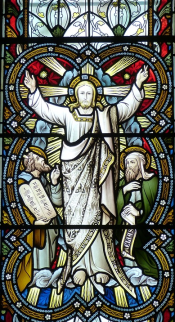 Kirchenfenster - Jesus Christus - Glasmalerei - Glarean Magazin