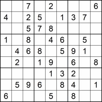 Sudoku Glarean Magazin - sehr einfach - Januar 2021