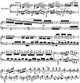 Ludwig van Beethoven - Chorfantasie op. 80 für Klavier, Chor und Orchester - Anfang - Glarean Magazin
