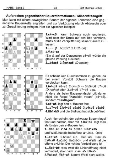 Thomas Luther - Handbuch und Arbeitsbuch für den Schachtrainer - Band 1-3 - Strategie - Rezensionen GLAREAN MAGAZIN