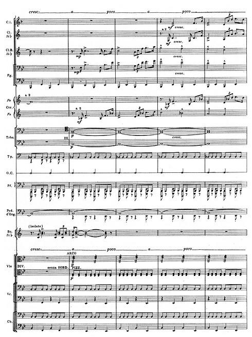 Das 50-Euro-Preisrätsel (Januar 2008): Aus welchem Orchesterwerk stammt dieser Partitur-Ausschnitt?