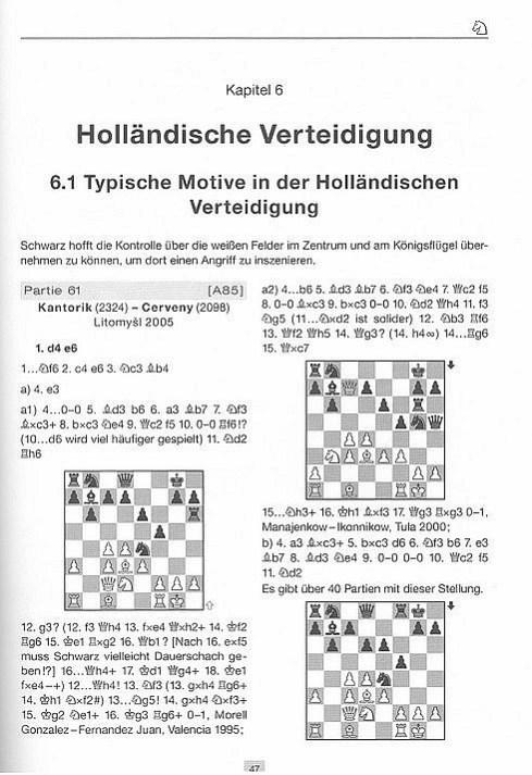 Leseprobe aus Karsten Müller und Rainer Knaak, 222 Eröffnungsfallen nach 1.d4, Edition Olms