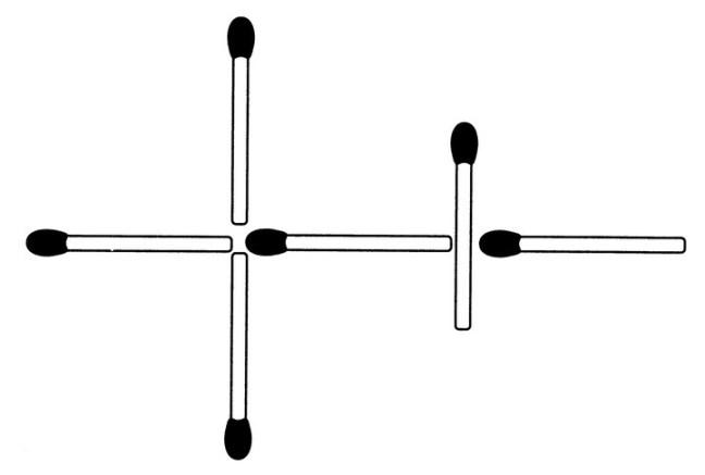Das neue Streichholz-Rätsel (September 2008)