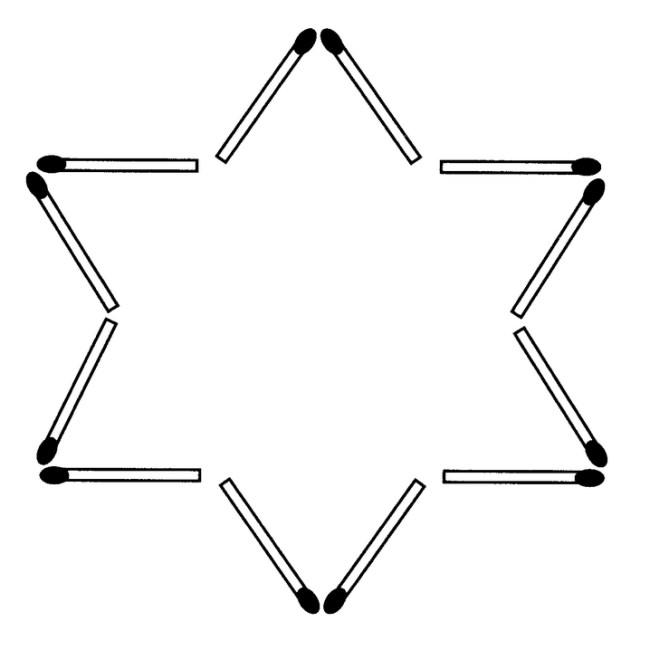 Das neue Streichholz-Rätsel (Dezember 2008)