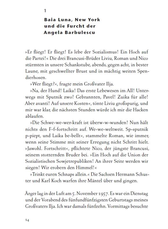 Leseprobe 1 aus: Rolf Bauerdick, Wie die Madonna auf den Mond kam, Roman, Deutsche Verlagsanstalt