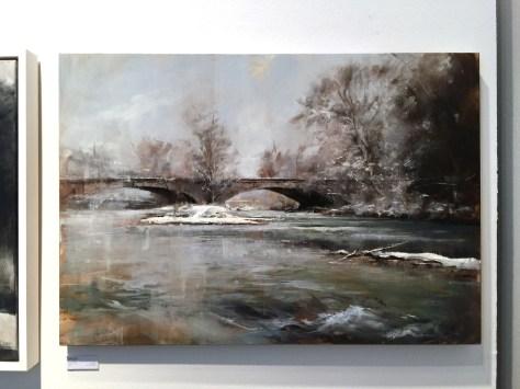 Lukas Frese - München XVII, Öl auf Holz, 100 cm x 70cm, 2014