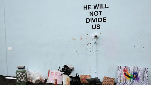 He Will Not Divide Us | LaBeoufRonkkoTurner 2017