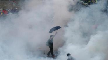 Umbrella Revolution Hongkong, Quelle:Reuters
