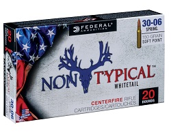 Non-Typical Deer Hunting Ammunition
