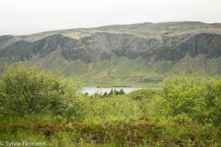 Ingólfsfjall, utsikt från sommarhuset