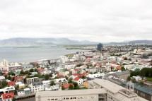 Vy över Reykjavik