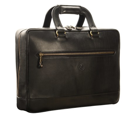 Hand-burnished-black-Portfolio;-14-x-10-x-3'