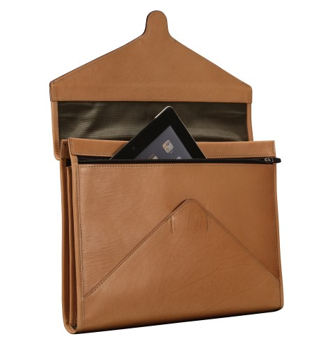 Hand-grained-natural-All-Leather-Flapover-Folderholder-with-dark-olive-green-lining.2