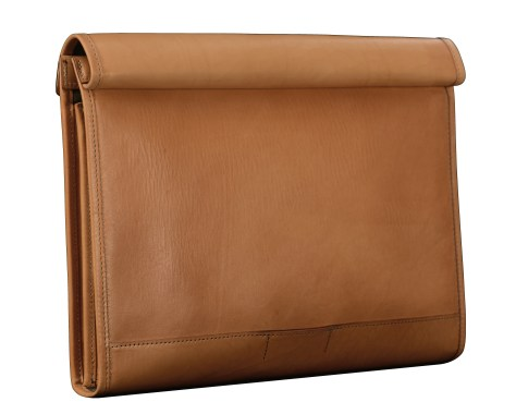 Hand-grained-natural-All-Leather-Flapover-Folderholder-with-dark-olive-green-lining.3