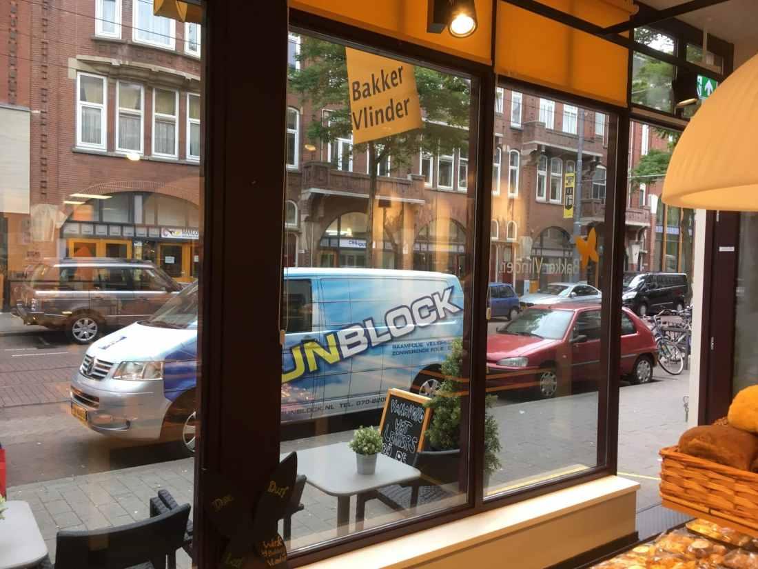 Bakker Vlinder Rotterdam - Clearview 60 zonnewarmte werende glasfolie