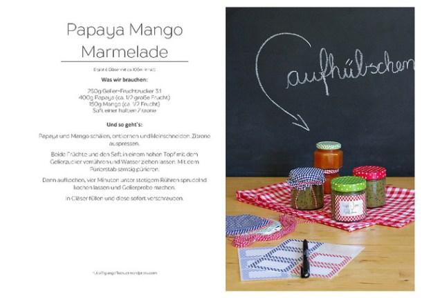 Rezept Papaya Mango Marmelade