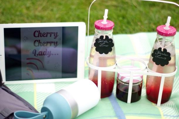Kirsch-Rosmarin-Sirup Tchibo Cherry Cherry Lady