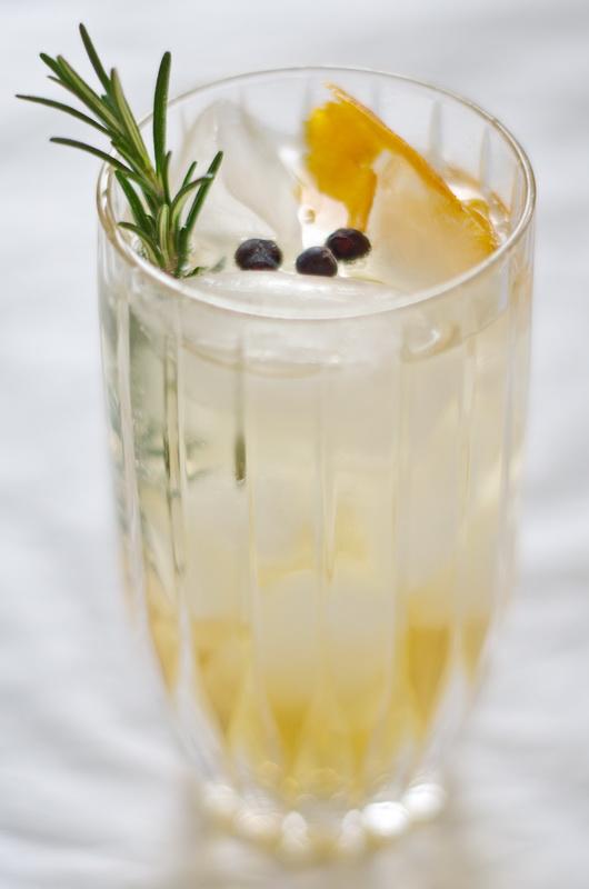 der fertige Gin & Tonic