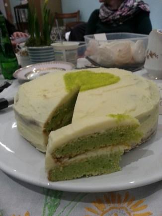 pea and lemon cake