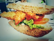 Nothing beats a good fish finger sandwich at The Richmond