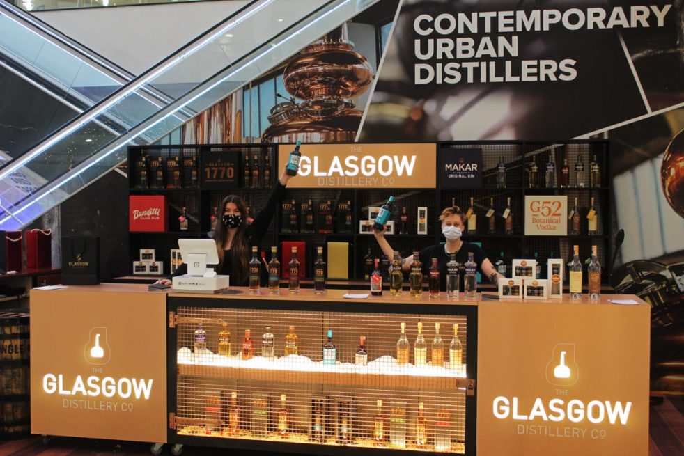 Glasgow Distillery Pop Up Shop