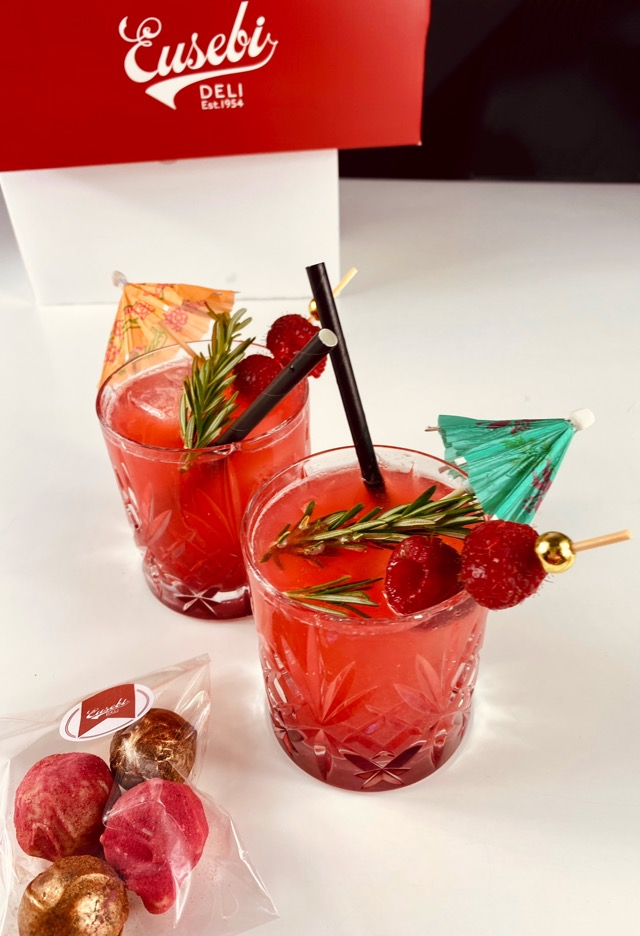 The kisser cocktail Eusebi deli at home