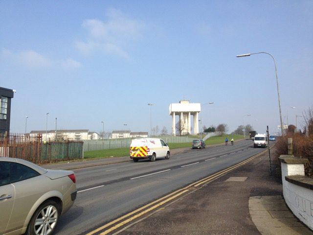 Cranhill water tower Glasgow