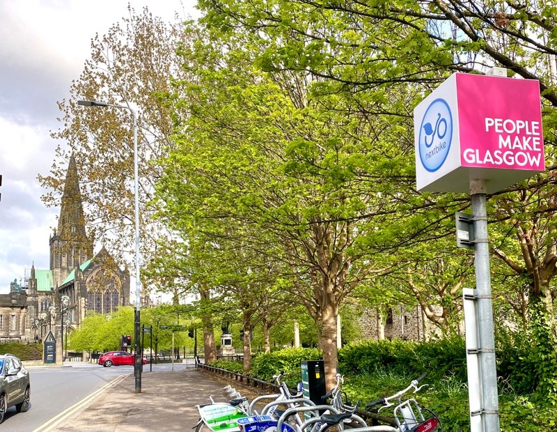 Glasgow cathedral bike hire