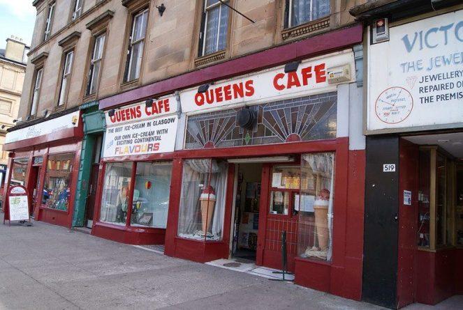 queens cafe glasgow