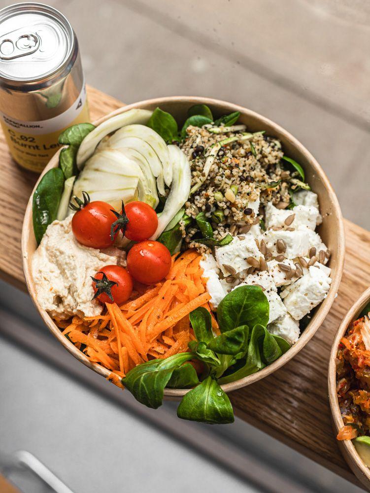 Bowl Glasgow salad bar cafe city centre