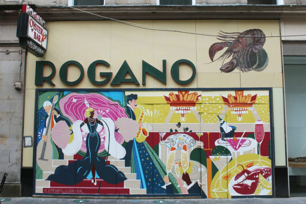 Togano Glasgow mural project