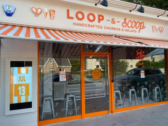 Loop and scoop Bearsden ice cream and churros