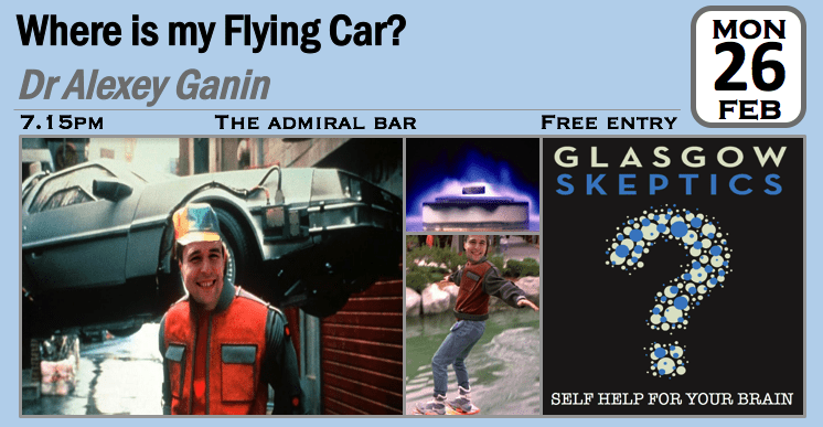 Flying Car event poster