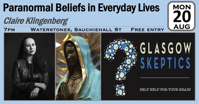 Paranormal Beliefs event poster