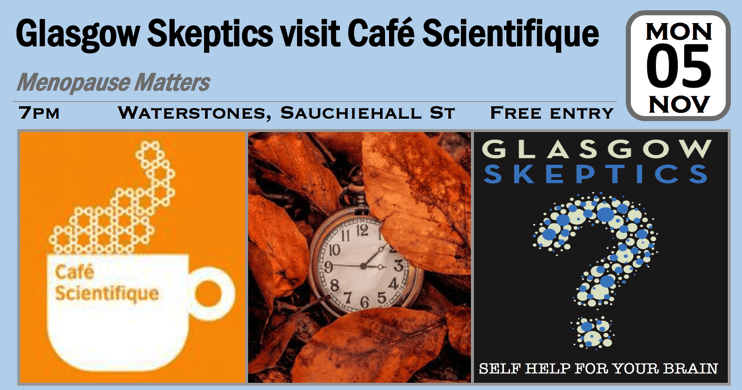 cafe sci-menopause event poster
