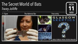 Bats event poster