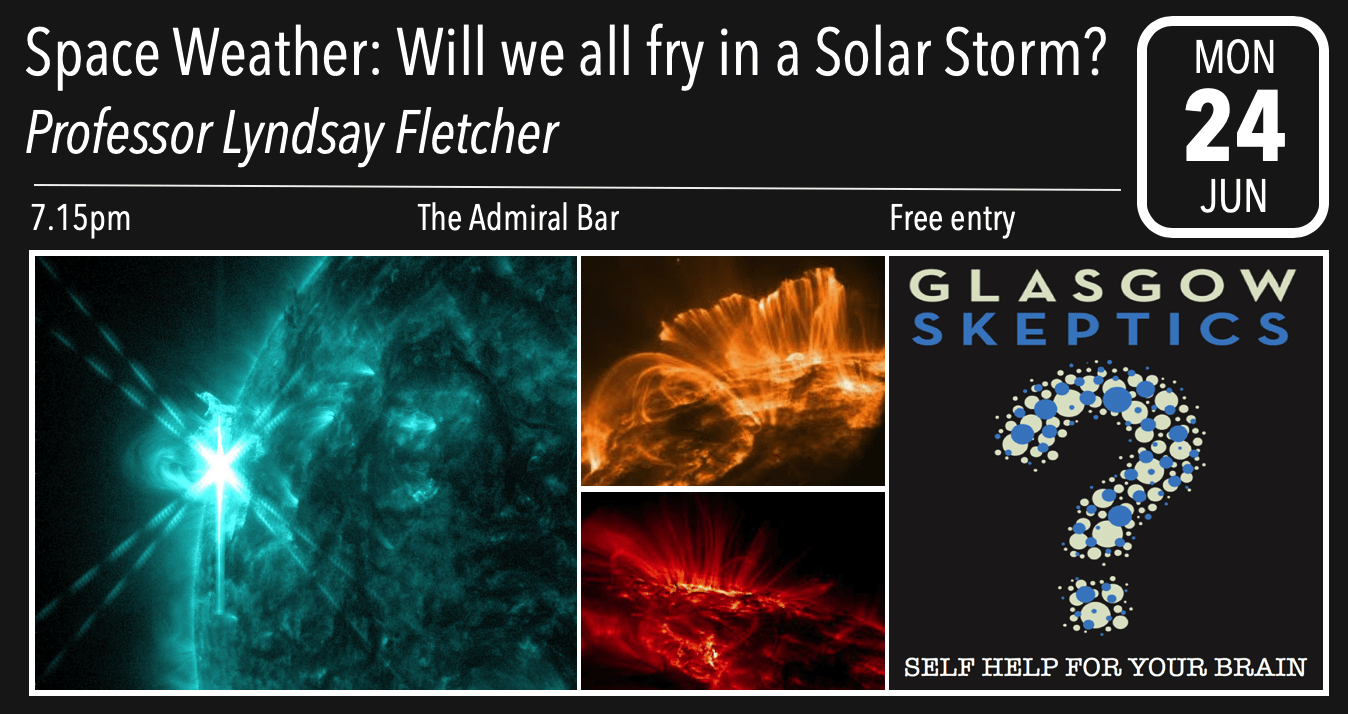 Space weather event poster