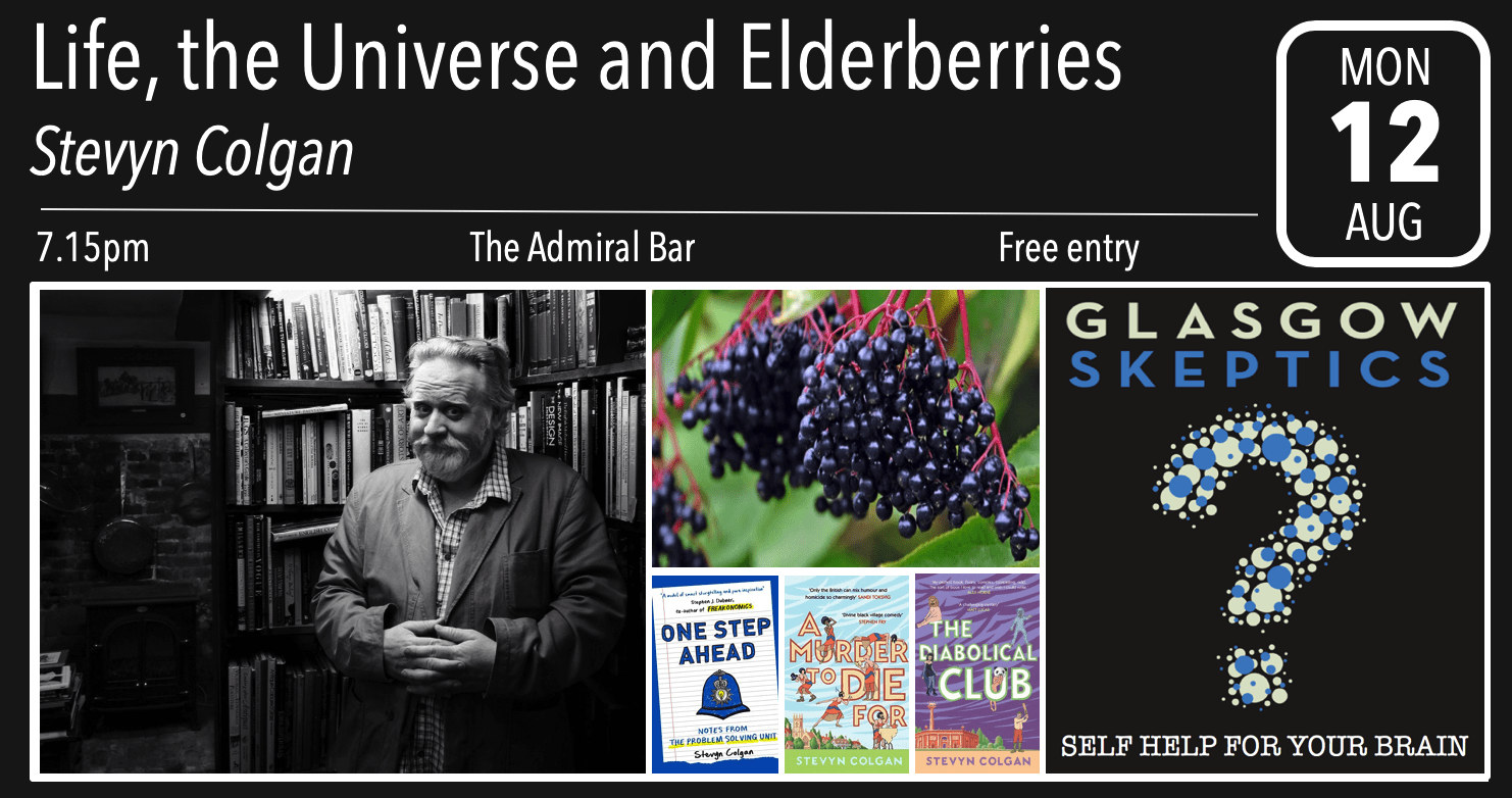 Elderberries event poster