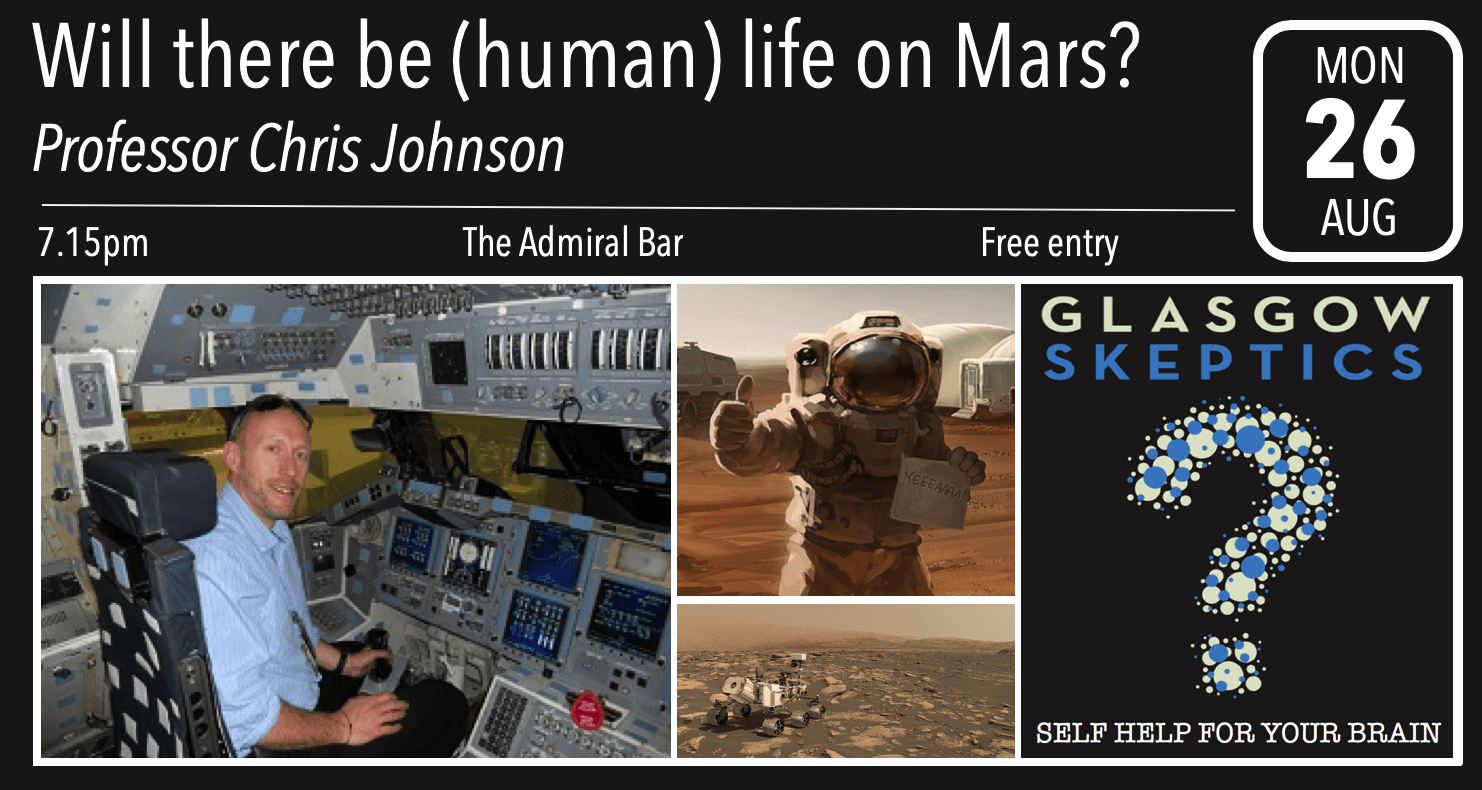 Mars event poster