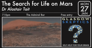 Life on Mars event poster