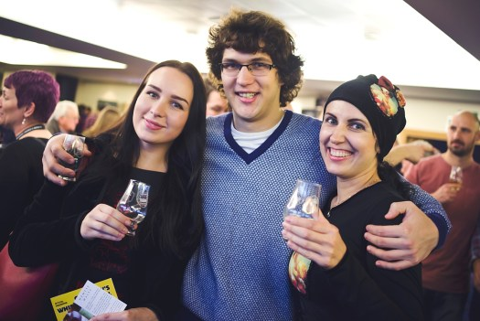 Guests at Glasgow's Whisky Festival 2016