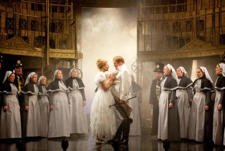 Laura Mitchell as Pamina & Nicky Spence as Tamino in Scottish Opera's The Magic Flute © Ken Dundas