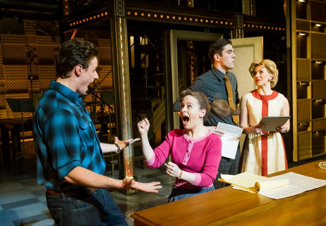 """'Beautiful-The Carole King Musical' Play performed at the Aldwych Theatre, London, UK"""
