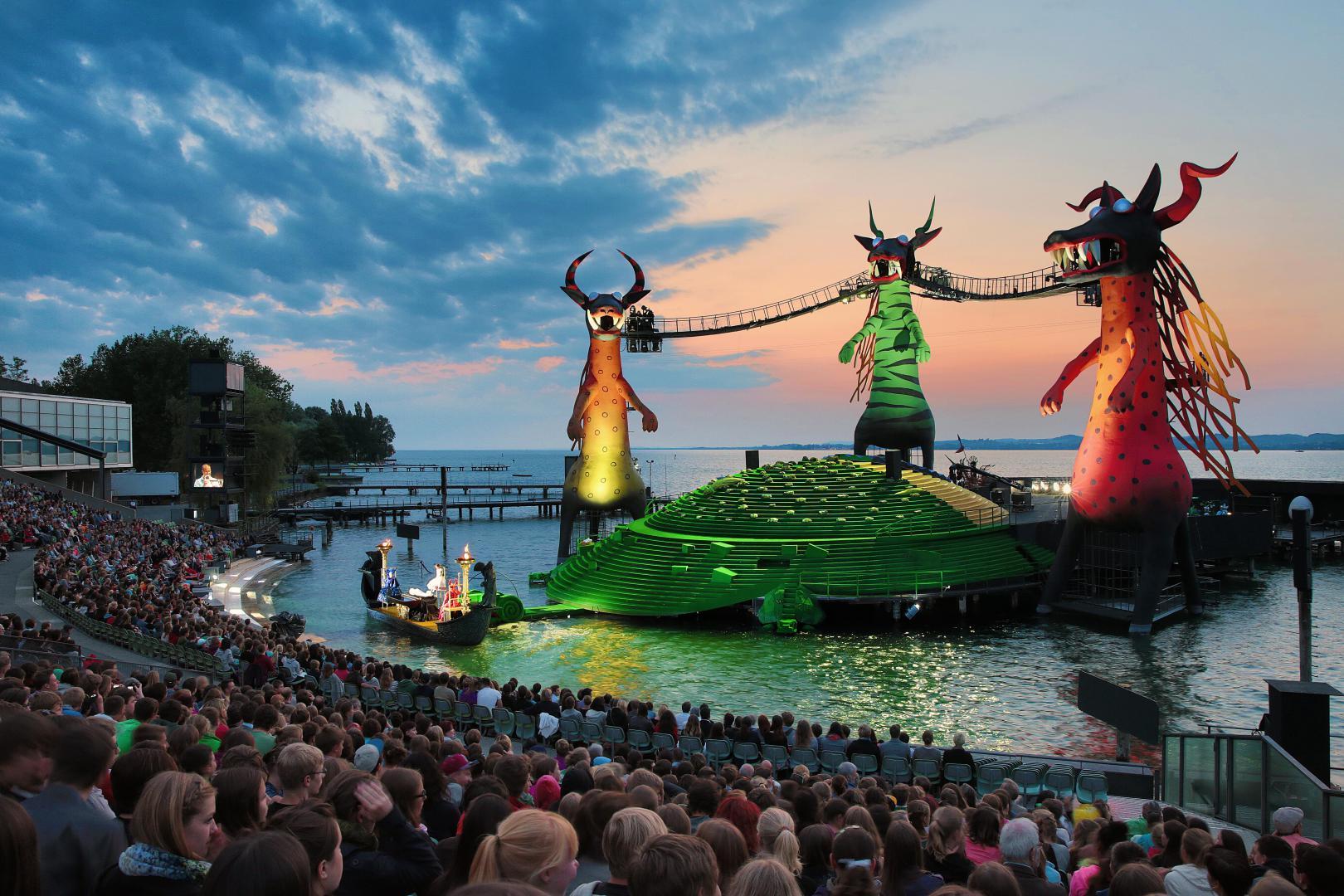 The Magic Flute - Stage ©Bregenzer Festspiele / Bregenz festival set Anja Köhler
