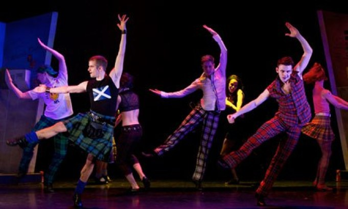 Matthew Bourne's Highland Fling, performed by the Scottish Ballet
