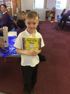 Jaejay was recognised this week for his excellent listening and concentration skills, making him a successful learner. Keep this up Jaejay!