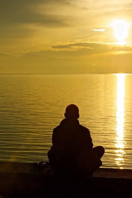 Meditation, Lindau,Bodensee 1