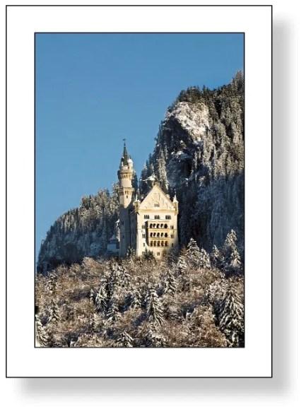 Schloss Neuschwanstein im Winter 1 F4