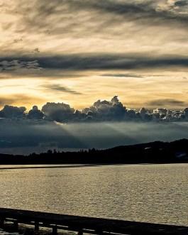 Sonnenuntergang in Hopfen am See 2