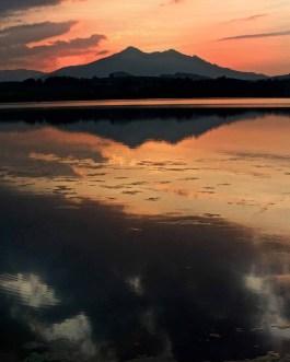 Sonnenuntergang Hopfen am See 5
